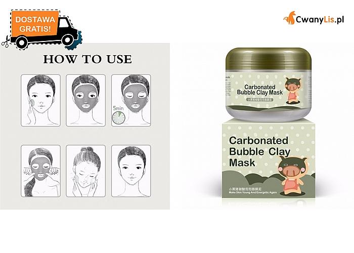 Głęboko oczyszczająca maska na twarz – niezwykle efektowna, wyjątkowy sposób działania. Wysyłka GRATIS!