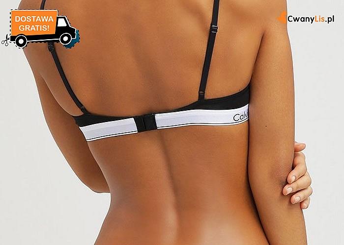 Idealne na prezent! Komplet bielizny damskiej z szeroką gumką zdobioną napisem Calvin Klein