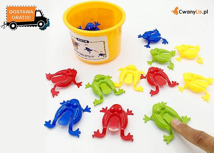 Skaczące żabki od KOCOZO!! Świetna zabawa dla całej rodziny!