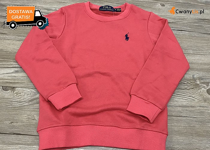 Bluza dziecięca Ralph Lauren! DARMOWA przesyłka! Najwyższa jakość wykonania!
