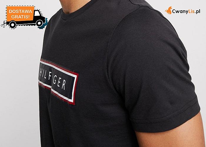 Elegancja w każdym wydaniu! Bawełniana, męska koszulka na krótki rękaw od Tommy Hilfiger!