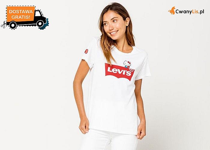 Połącz uniwersalność, styl i zabawę! Uniwersalna koszulka Levi's z Hello Kitty!