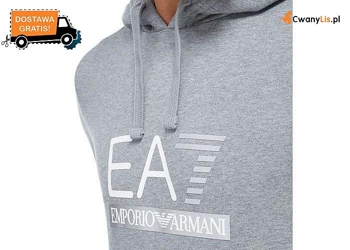 Doskonała dla każdego mężczyzny! Bluza męska z kapturem Emporio Armani! Doskonała jakość wykonania!