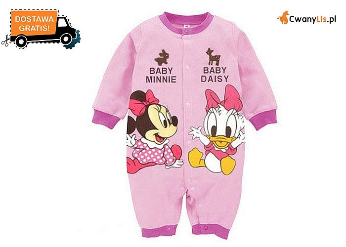 Niemowlęce śpiochy z motywem Disneya! Bawełniane pajacyki dla chłopca i dziewczynki!