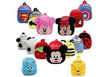 Pluszowe plecaczki dla dzieci