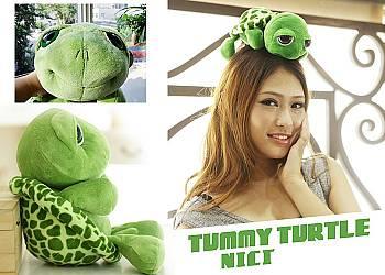 Pluszowa maskotka żółw